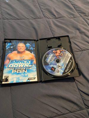 WWE ps2 for Sale in Manassas, VA