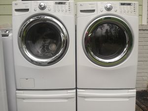 LG washer and dryer for Sale in Ellenwood, GA