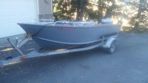 16f 87 Bluefin Aluminum hull Wide hull for Sale in Wenatchee, WA