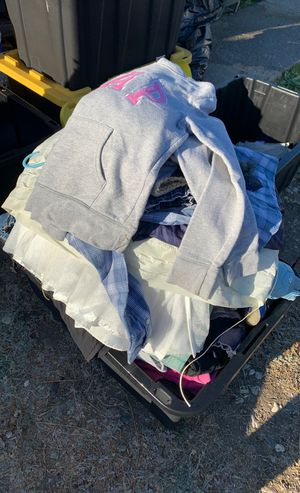Bin full of kids clothing boys and girls! Ranges from size 5 to size 8 for Sale in San Pablo, CA