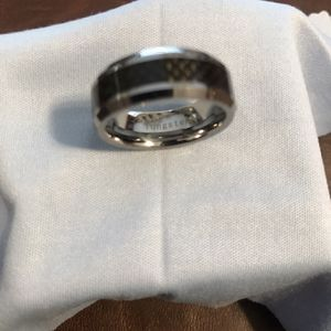 Tungsten Carbide Carbon Fiber Wedding Band for Sale in Buena Park, CA