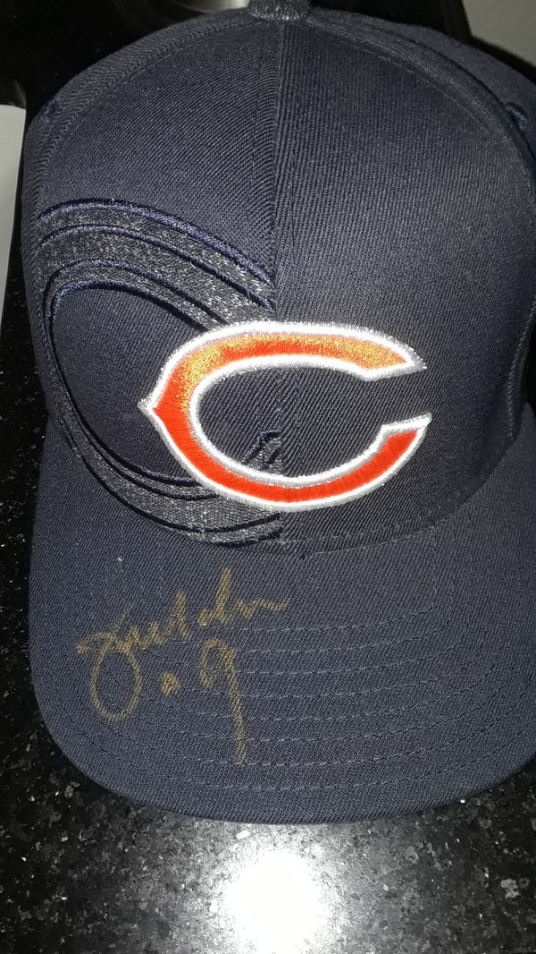 CHICAGO BEARS JIM MCMAHON SB CHAMP AUTOGRAPHED AUTHENIC CAP