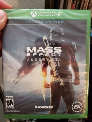 Mass Effect Andromeda (Brand New & Sealed) - XBOX One for Sale in San Antonio, TX