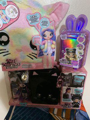 Brand New Na na doll bundle for Sale in Tacoma, WA