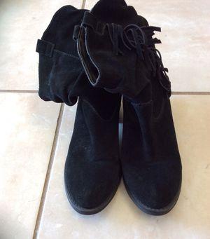 Limelight Shania Black Fringe Boots size 8 for Sale in Lawrenceville, GA