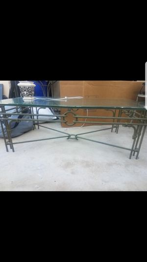 Glass top table for Sale in San Diego, CA