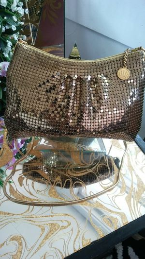 Heavy Gold Mesh Evening Bag for Sale in Portsmouth, VA
