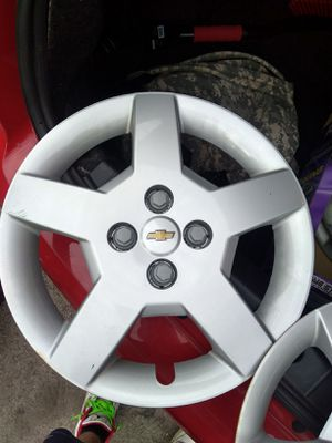 "15"" OEM Chevy hub caps for Sale in Fort Worth, TX"