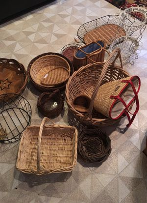 Lots of baskets for Sale in Acton, MA
