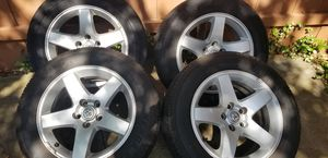 Dodge Charger Rim set with tires for Sale in Irving, TX