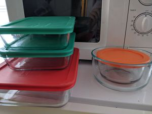 Tupper Ware glass pyrex for Sale in Seattle, WA