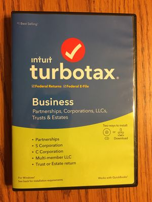 TurboTax for Business (Tax Year 2019) for Sale in Colorado Springs, CO