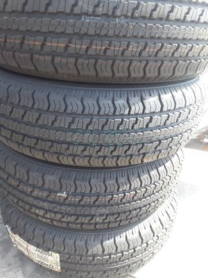 ST205/75R15 (4) NEW TRAILER TIRES for Sale in Los Angeles, CA