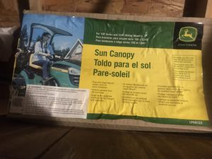 Sun Canopy for John Deere Tractor for Sale in West Melbourne, FL