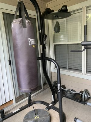 Everlast heavy bag/speed bag station for Sale in Marietta, GA