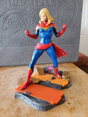 "8"" captain marvel statue figure collectable for Sale in National City, CA"