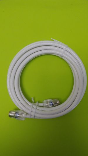 New Coaxial Cable(6 Feet) Quad Shielded White RG6 Cable for Sale in Jurupa Valley, CA
