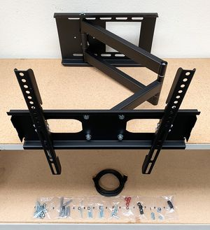 "Brand New $33 HDMI and Full Motion TV Wall Mount Combo 23""-50"" Swivel Tilt for Sale in Montebello, CA"