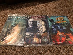 3 Loot Crate Comic-Book Exclusives! Dark Souls, Star Trek: Next Generation, Big Trouble in Little China for Sale in Lee's Summit, MO