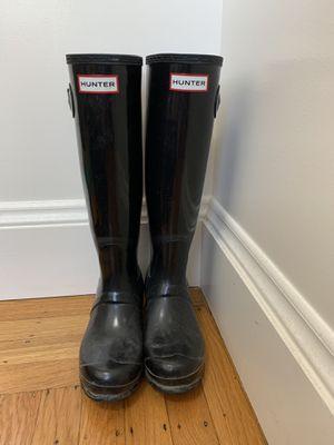 Hunter rain boots - 6.5 for Sale in San Francisco, CA