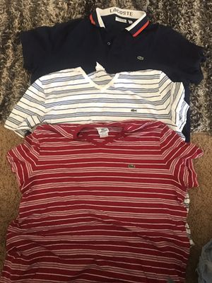 Lacoste shirts for Sale in Maricopa, AZ
