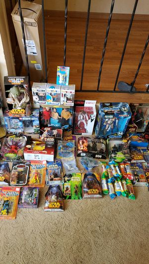 Star wars and other collectibles for Sale in Rancho Cordova, CA
