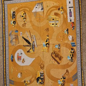 Cloth Children's Construction Play Mat for Sale in Hollidaysburg, PA