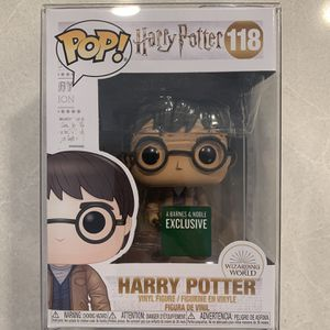 Harry Potter Two 2 Wands *MINT* Funko Pop Barnes & Noble Exclusive 118 with protector for Sale in Lewisville, TX
