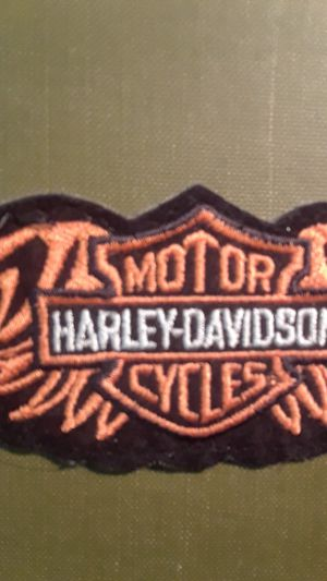 HARLEY DAVIDSON patch 4in for Sale in Denver, CO