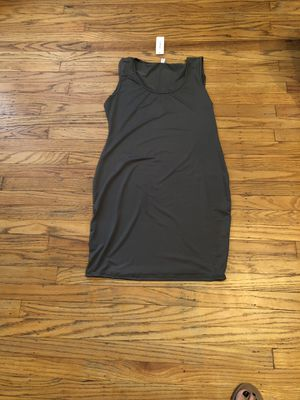 New without tags large maternity tank dress gray for Sale in Delanco, NJ
