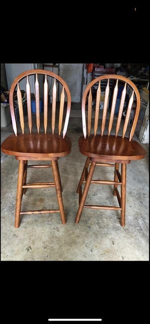 Wooden high rise chairs for Sale in Oregon City, OR
