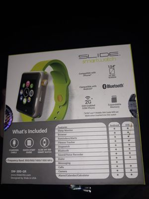 Slide smartwatch $60 for Sale in Independence, MO