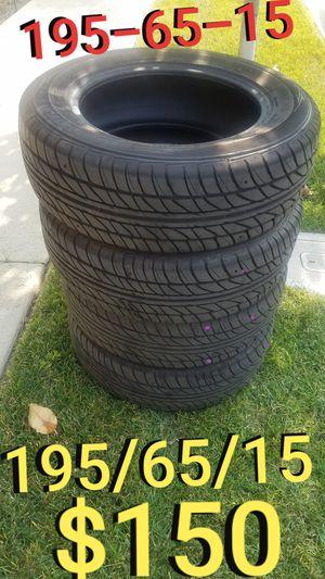 195-65-15 Tires set - 195/65/15 Tires for Sale in Los Angeles, CA