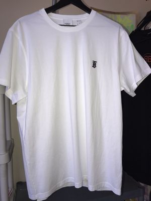 Burberry Parker Logo Tee T-Shirt White Size XL for Sale in Tempe, AZ