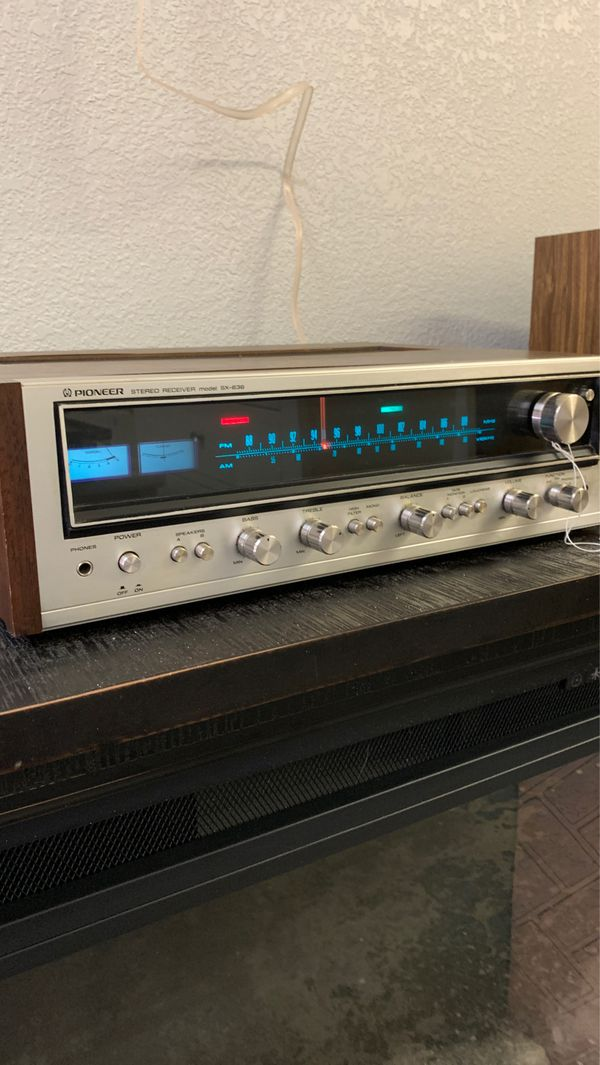 Pioneer stereo receiver SX-636 excellent condition