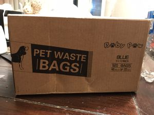 Pet Waste Bags (Blue) for Sale in Tulsa, OK