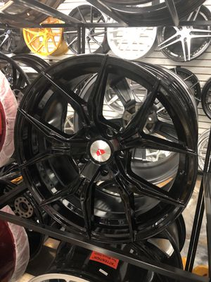 "19"" gloss black wheels rims tires fit 5x114/5x120 Honda Accord civic Acura TL tlx ilx rdx Nissan Altima maxima Infiniti g35 g37 q50 q60 sport Lexus i for Sale in Queens, NY"