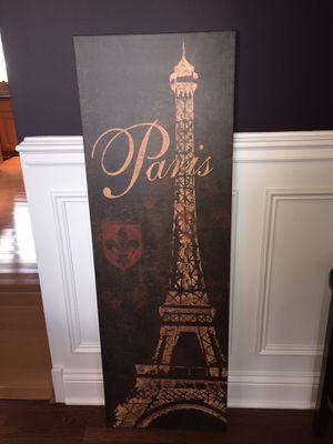 Paris - Canvas Picture for Sale in Orland Park, IL