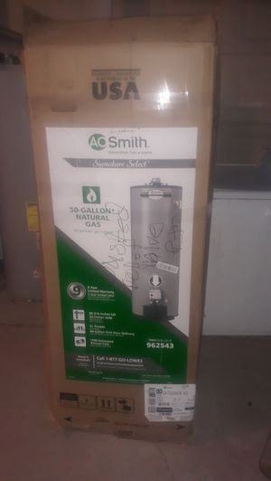 Water heater gas natural 50 gallons new for Sale in Bakersfield, CA