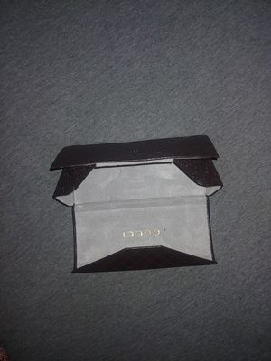 Gucci Eyeglasses Case Authentic for Sale in Nicholasville, KY