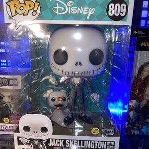 Funko Disney Jack Skellington - FYE Exclusive - Glow In The Dark Chase for Sale in La Mirada, CA