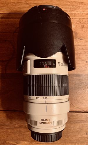 Canon EF 70-200mm f2.8 ii USM Lens for Sale in Mount Rainier, MD
