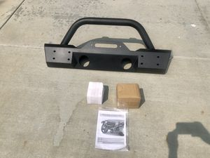 Brand New! TACTIK Stubby Front Bumper with Hoop for 07-18 Jeep Wrangler JK for Sale in Redlands, CA