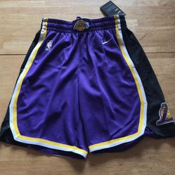 Brand new Nike LA Lakers authentic basketball shorts men's size small S for Sale in El Cajon, CA