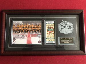 Bruins Winter Classic photo & ticket for Sale in Sudbury, MA