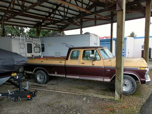 1970 Ford F-350 Ranger XLT Camper special for Sale in Marysville, WA