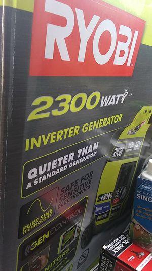 Ryobi 2300watt inverter generator for Sale in Farmington, NM