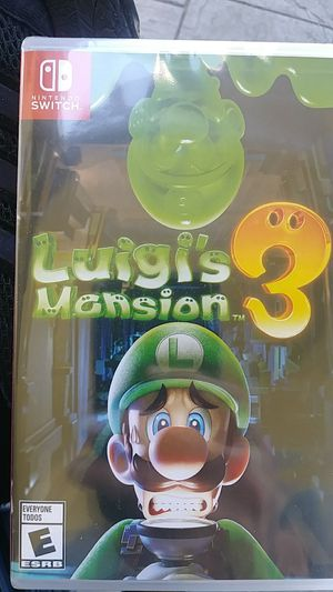 Luigi's Mansion 3 - Never Opened for Sale in San Diego, CA