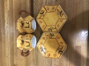 Roster tea cups for Sale in Arrington, VA