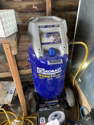 Kobolt air compressor 26 gallon for Sale in Columbus, OH